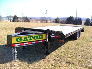 20K EQUIPMENT TRAILER FOR SALE