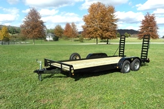 18FT EQUIPMENT TRAILER FOR SALE