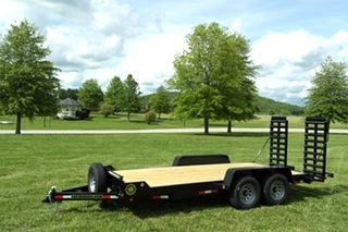 16+2 EQUIPMENT TRAILER FOR SALE